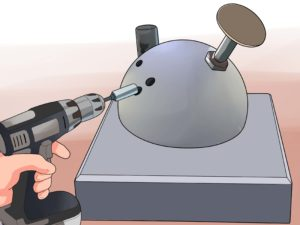 Bowling Ball Hole Drilling